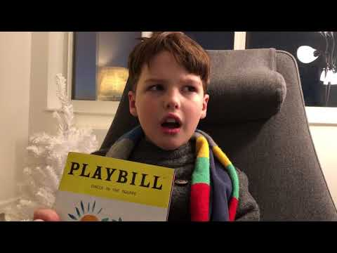 Iain reviews Once on This Island (Broadway) 10/13/2017