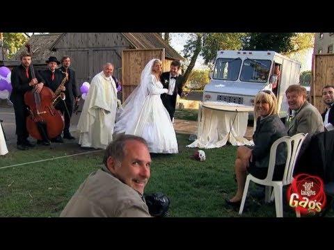 Real Wedding Crasher Gag