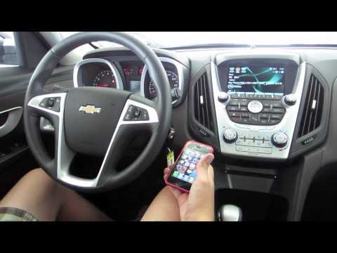 Getting To Know Your 2011 Chevrolet Equinox How To Set Up