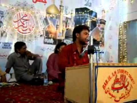 Mohsin Raza Manqabat 3 Shaban 2011 (main Kya Karo Mujhay Shabbir Say ) video