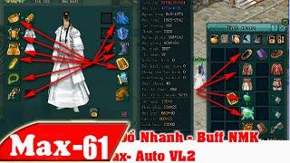 Cách Dùng Auto Thay Đồ & Buff NMk - Max-Auto VL2