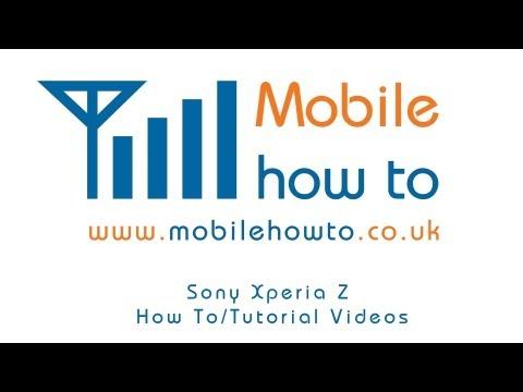 How To Insert & Remove MicroSD Memory Card - Sony Xperia Z
