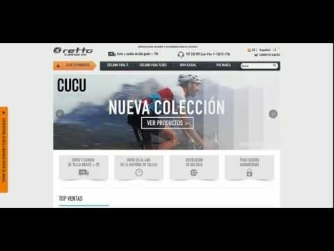 Retto.com: Descuentos y ofertas para comprar en la tienda de ciclismo Retto