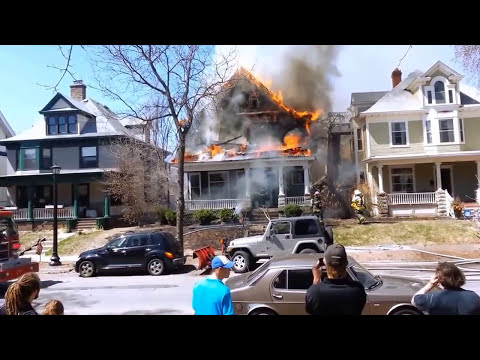 Structure Fire with Radio - Minneapolis - 4/29/13 Part 1