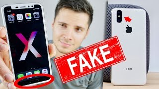 $120 Fake iPhone X With a Home Button?