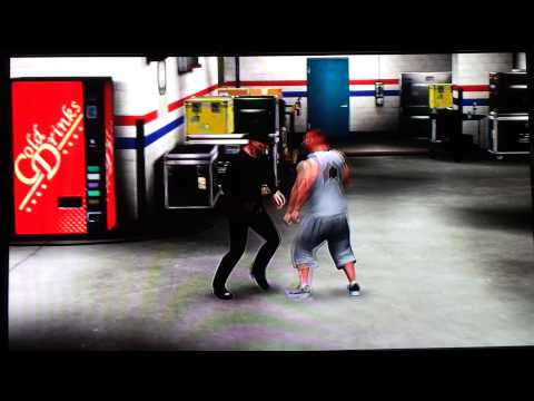 WWE 13 Gold Rush Round 10 Cody Mitchell & Freddy Krueger Backstage Brawl