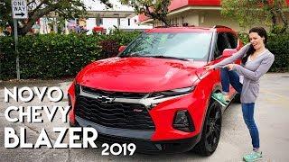 NOVO Chevrolet BLAZER 2019 com motor V6: o SUV do CAMARO