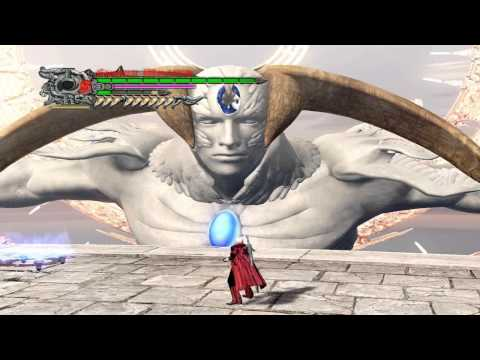 Devil May Cry 4 - acabando com a estatua gigante