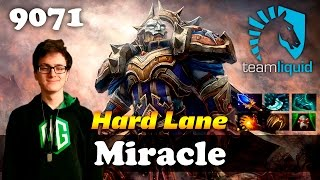 Miracle Omniknight Hard Lane | 9071 MMR Dota 2