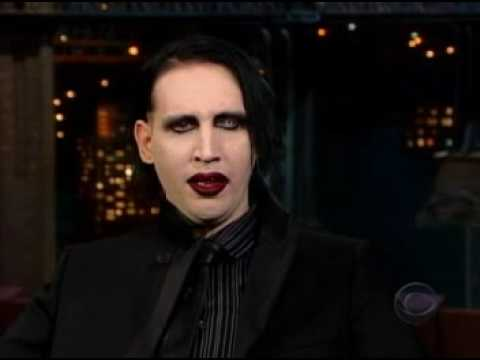 Marilyn Manson on Letterman 2003