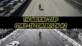 The Walking Dead. Comic TV Comparison #2