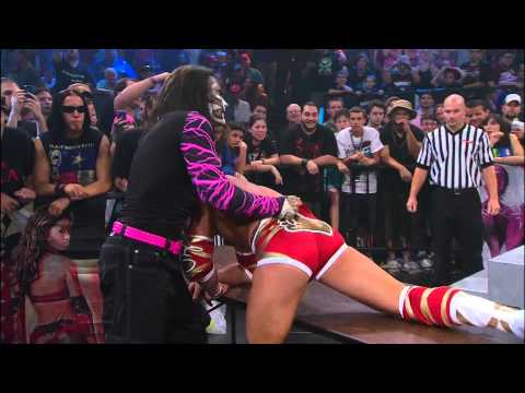 Hardcore Justice 2012: Jeff Hardy Vs. Bully Ray Vs. James Storm Vs. Robbie E video