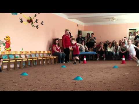 Эстафета в детском саду № 517 г. Киев