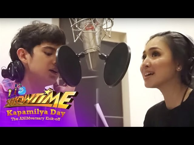 It's Showtime Kapamilya Day: James Reid and Nadine Lustre Recording Session
