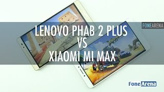 Lenovo PHAB 2 Plus Vs Xiaomi Mi Max