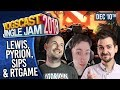 LEWIS, PYRION, SIPS & RTGAME! - YOGSCAST JINGLE JAM! - 10th December 2018