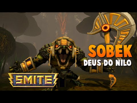 SMITE BRASIL - SOBEK Deus do Nilo! BUILD + GAMEPLAY!