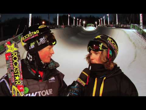 Dew Tour Mount Snow Ski Super Pipe...