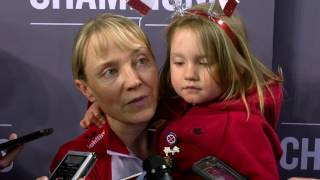 2017 Scotties Tournament Of Hearts - Media Scrum - Page Playoff 3v4