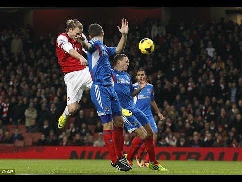 Arsenal-Hull City 2-0 Bendtner Özil Goals win it! Review & Match Reaction