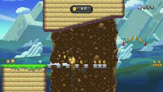 Triple-Jump for Coins ~Coin Collection Challenges -New Super Luigi U - New Super Mario Bros U Deluxe