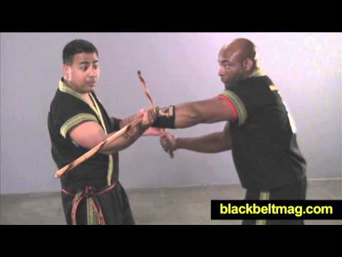 Kali Sticks Video: Julius Melegrito Demonstrates Fast Single-Stick Disarm Image 1