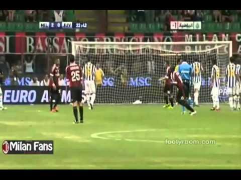 AC Milan 2-1 Juventus Goals Highlights HD Berlusconi Cup 2011.flv