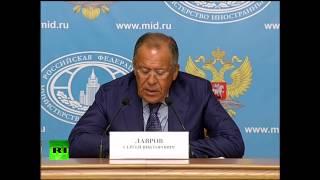 Сергей Лавров назвал действия британских властей в отношении канала RT неприкрытой цензурой