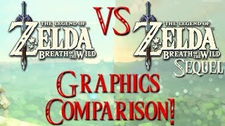 Zelda: Breath of the Wild VS Botw Sequel - Graphics Comparison and Analysis!