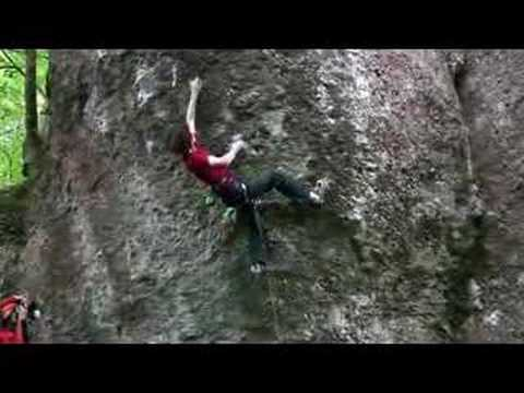 Adam Ondra on Action Directe 11 / www.EuroClimbing.com