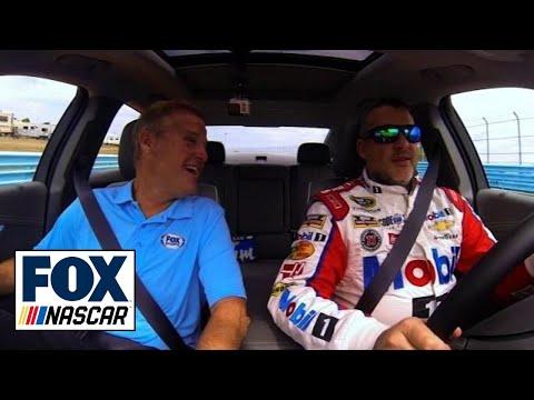 Tony Stewart Gives Kenny Wallace a Ride at WGI - 'NASCAR RaceDay'