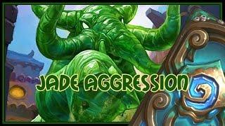 Hearthstone: Jade aggression (jade druid)