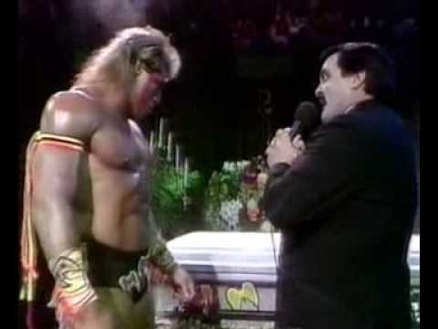 Funeral Parlour with Ultimate Warrior (WWF, April 1991)