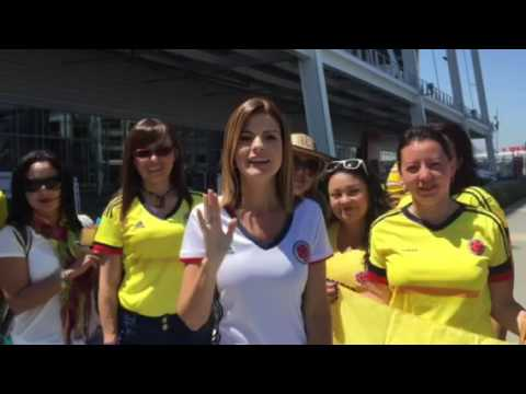 Invitacion de Rochi Stevenson - Copa America