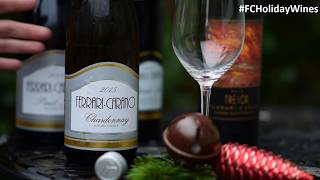Ferrari Carano Wine from Sonoma County Pouring for the Holidays