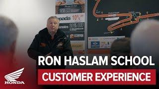 Ron Haslam Race school customer experiences