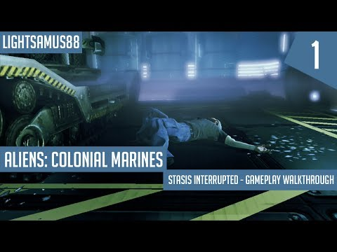 Aliens: Colonial Marines: Stasis Interrupted - Gameplay Walkthrough Part 1