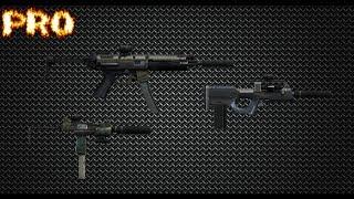 GTA ONLINE PRO WEAPONS (Micro SMG) (UZI) (SMG) (MP5) (Assault SMG) (QBZ)
