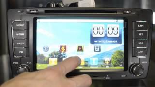 Головные устройства SKODA  2013