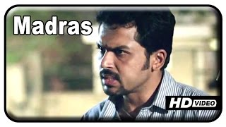 Alex Pandian - Madras Tamil Movie - Karthi advices Kalaiyarasan