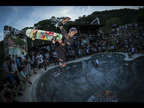 Bowl Skating Competition in Brazil - Red Bull Skate Generation 2014