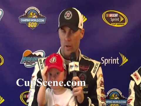 NASCAR at Phoenix International Raceway March 2015: Kevin Harvick post race