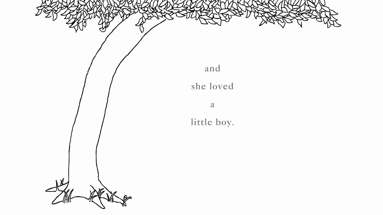Shel Silverstein: 'The Giving Tree' excerpt - YouTube The Giving Tree And The Tree Was Happy