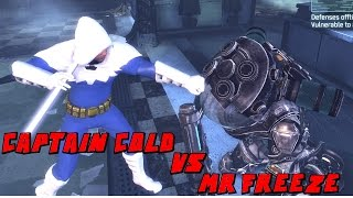 Batman Arkham City Captain Cold VS Mr Freeze Mod