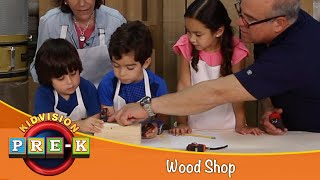How to Work with Wood | KidVision Pre-K Wood Shop Field Trip