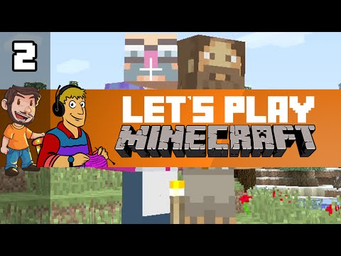 Let's Play Minecraft - Episode 2: Plateau of Ending