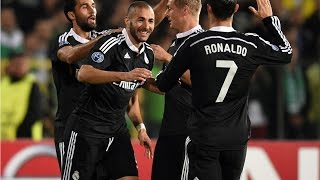 Ludogorets 1-2 Real Madrid Resumen Audio Cope  Champions League 01/10/14