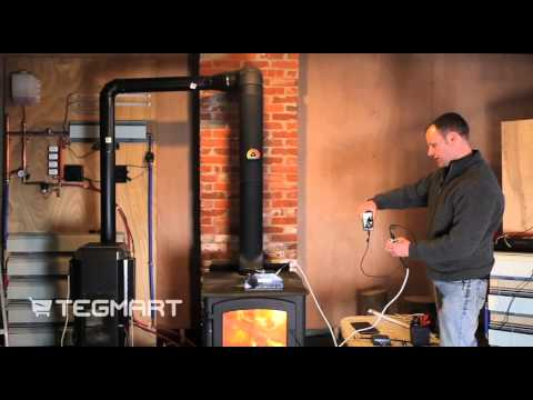 Devil Watt 45 watt Wood Burning Stove Thermoelectric Generator
