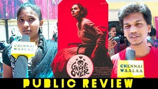 "Game Over Public Review"" | Ashwin Saravanan | Taapsee Pannu Winning Hearts!"