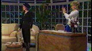 "BETTE DAVIS on ""LATE SHOW WITH JOAN RIVERS"" 1987 (1/2)"